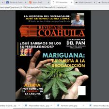 Revista de Coahuila Número 327 Diciembre 2018