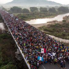 Caravanas: un problema que se complica en la frontera norte